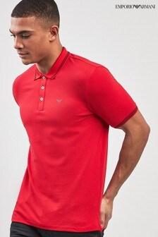 Emporio Armani Tipped Poloshirt