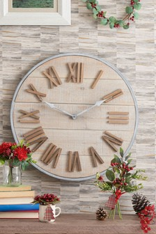 Salvage Wall Clock