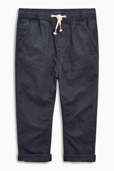 Linen Blend Trousers (3-16yrs)