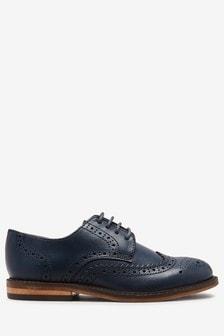 Chaussures richelieu en cuir (Garçon)