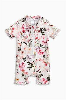 Frill Sunsafe Suit (3mths-6yrs)