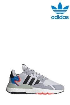 adidas Originals Grey/Black Nite Jogger Trainers