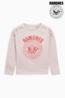 Ramones Long Sleeve Eyelet T-Shirt (3-16yrs)