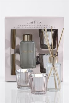 Just Pink Home Fragrance Gift