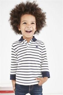 长袖基本款Polo衫 (3个月-6岁)