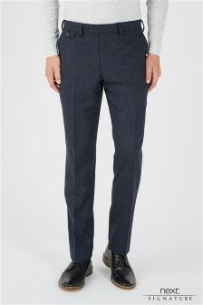 Signature Donegal Suit: Trousers