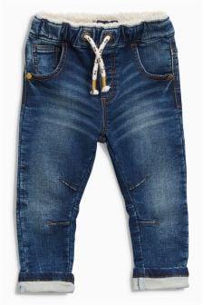 Jerseyhose im Jeans-Look (3 Monate bis 6 Jahre)