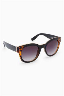 Chunky Cat Eye Style Sunglasses