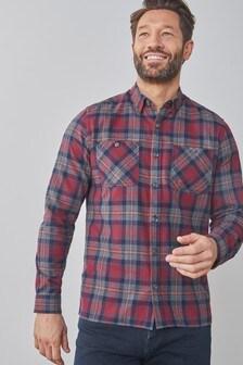 Check Long Sleeve Shirt
