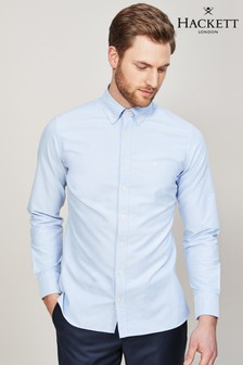 Hackett Blue Oxford Shirt