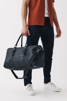 Signature Oiled Leather Holdall