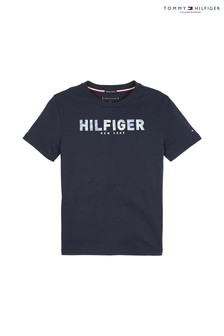 Tommy Hilfiger Boys Branded Appliqué T-Shirt