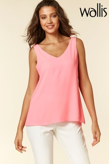 Wallis Pink V-Neck Cami