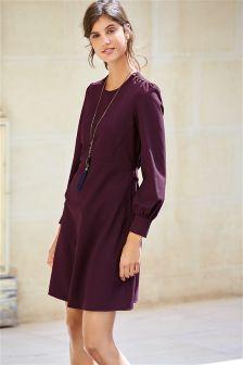 Ripple Texture Dress