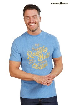Raging Bull Blue Original RB T-Shirt