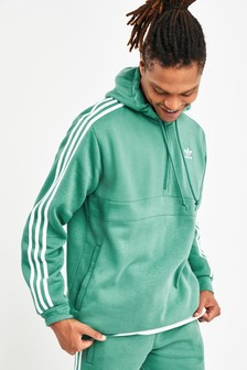 adidas Originals 3 Stripe 1/2 Zip Hoody