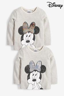 Stripe Sequin Minnie Mouse™ T-Shirt (9mths-7yrs)