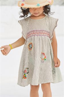 Character Embroidered Dress (3mths-6yrs)