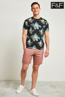 F&F Dusky Pink Chino Stretch Short