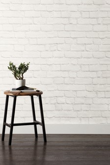 Paste The Wall Painted Brick Wallpaper