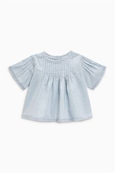 Pintuck Blouse (3mths-6yrs)
