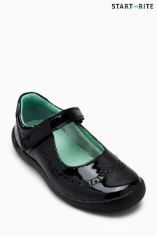 Start-Rite Black Patent Lizzy Shoe
