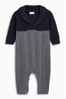 针织连衣裤 (0个月-2岁)