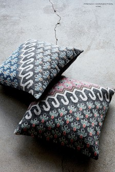 French Connection Poppy Field Cushion
