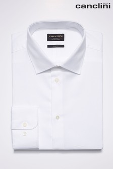 Signature Textured Canclini Fabric Shirt
