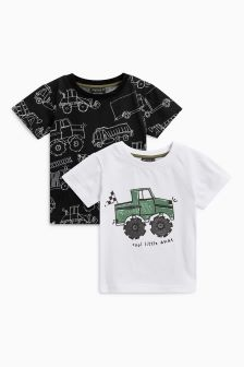 Monster Truck T-Shirt Two Pack (3mths-6yrs)