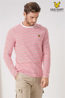 Lyle & Scott Stripe Long Sleeve T-Shirt