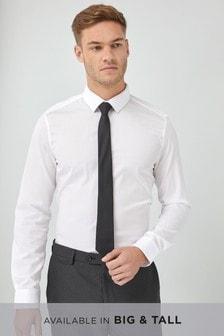 Ensemble chemise texturée et cravate