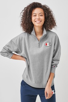 Champion Grey High Neck T-Shirt