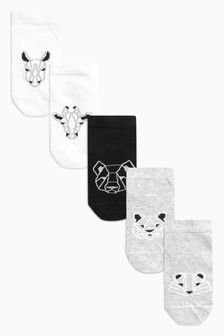 Character Trainer Socks Five Pack (Younger)
