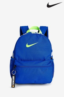 Nike Kids Blue Just Do It Brasilia Backpack