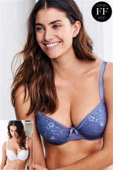 Phoebe DD+ Light Pad Balcony Bras Two Pack