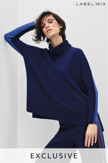 Mix/J.Won Boxy Roll Neck Knit