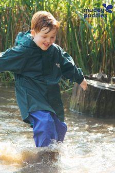 Muddy Puddles Green Originals Waterproof Hooded Jacket
