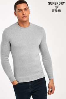 Superdry Grey Cashmere Jumper