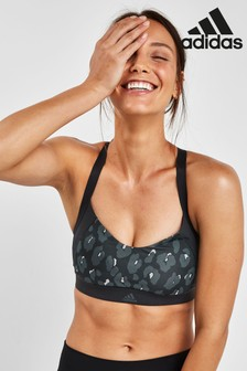 adidas Black All Me Iteration Bra
