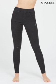 ג'ינס משופשף בגזרת סקיני של SPANX®