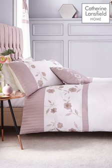 Grace Duvet Cover and Pillowcase Set by Catherine Lansfield