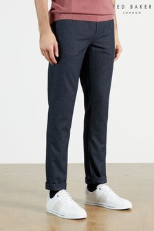 Ted Baker Haloe Super Slim Fit Semi Plain Trousers