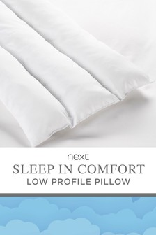 Sleep In Comfort Low Profile Pillow