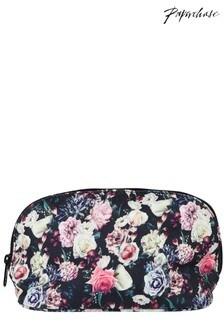 Paperchase Dark Floral Washbag