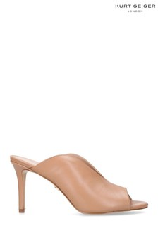 Kurt Geiger London Camel Broadwick Sandals