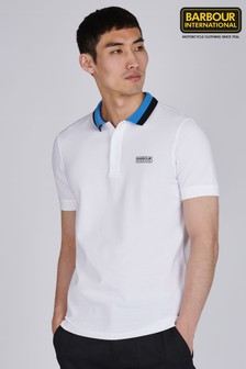 Barbour® White Ampere Polo Shirt