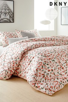 DKNY Wild Geo Duvet Cover and Pillowcase Set