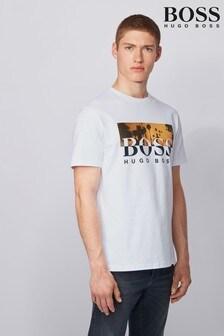 BOSS White Summer 6 T-Shirt
