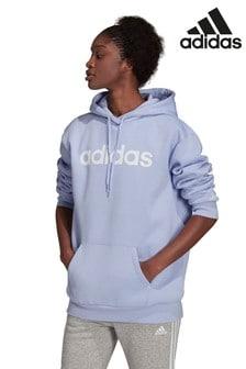 adidas Oversized Longline Linear Hoodie
